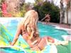 telecharger porno Sexe, blondasse et piscine